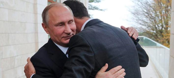 Ο Βλαντιμίρ Πούτιν ανέλαβε μόνος να σχεδιάσει το μέλλον της Συρίας -Βαθύ παρασκήνιο