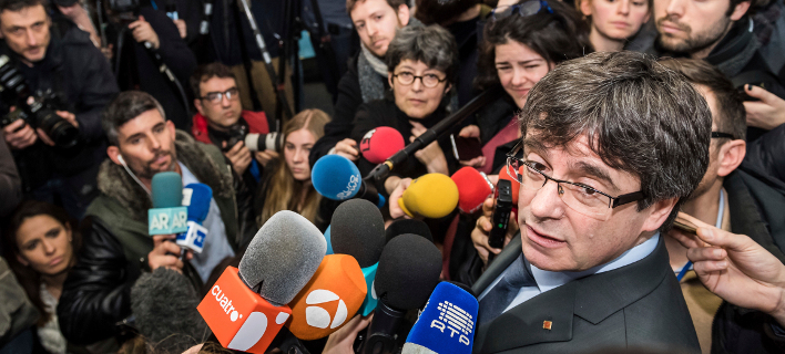 Ο Κάρλες Πουτζδεμόν (Φωτογραφία: AP Photo/Geert Vanden Wijngaert)