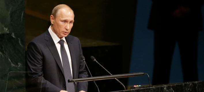 Ο Ρώσος πρόεδρος Βλαντιμίρ Πούτιν/Φωτογραφία: AP