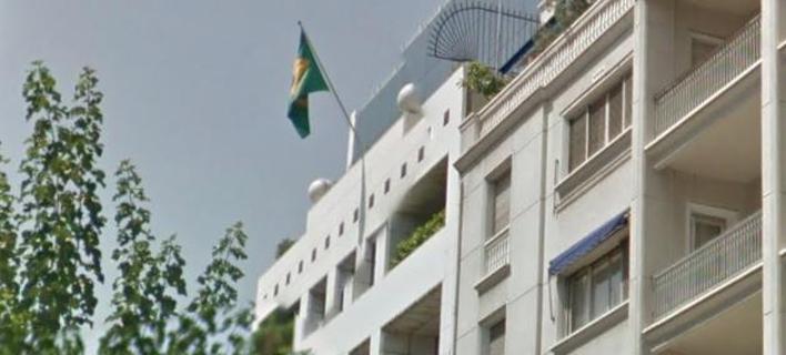 Η πρεσβεία της Βραζιλίας / Φωτογραφία: Google Maps