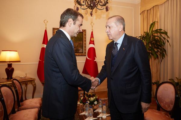 Μητσοτάκης μετά την συνάντηση με Ερντογάν: Η αμφισβήτηση της Λωζάνης υπονομεύει τις σχέσεις μας