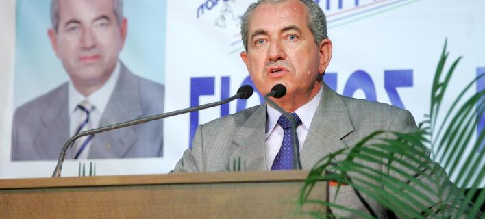 Φωτογραφία: messolonghinews.blogspot.gr- Ο πρώην δήμαρχος Μεσολογγίου