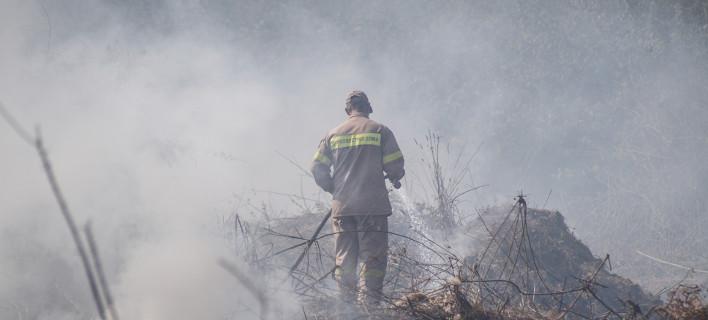 Ο 52χρονος Κ.Η φέρεται να προκάλεσε την τεράστια φωτιά που ξέσπασε την Πέμπτη στην Πρέβεζα/ Φωτογραφία: Eurokinissi