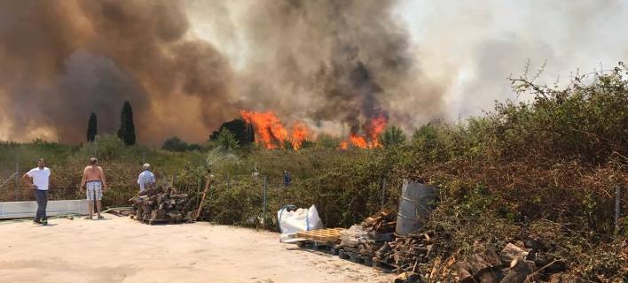 Πρέβεζα; Φωτιά στην Πρέβεζα - Κάηκαν σπίτια, θερμοκήπια, αποθήκες [εικόνες & βίντεο]
