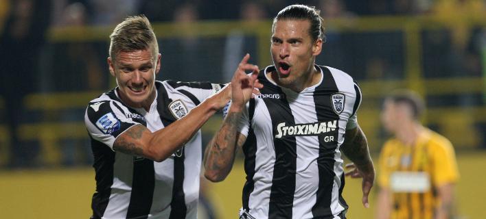 Δύο γκολ και απόψε ο Πρίγιοβιτς /Φωτογραφία: EUROKINISSI