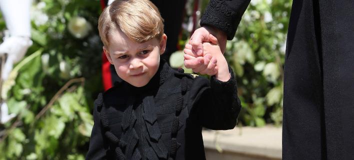Ο 4χρονος πρίγκιπας Τζορτζ. Φωτογραφία: AP