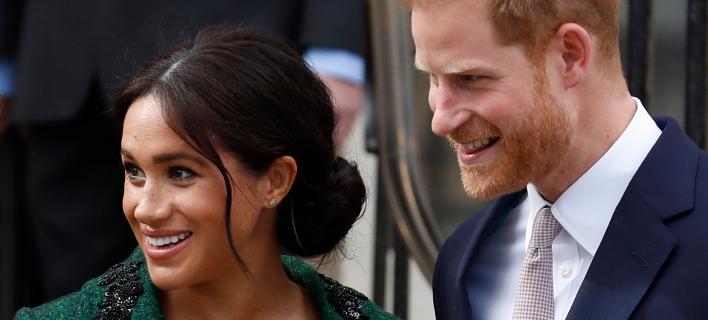 Πρίγκιπας Χάρι και Μέγκαν Μαρκλ. Φωτογραφία: AP