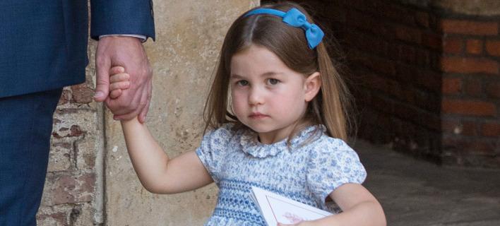 Η μικρή Σάρλοτ ιππεύει από μόλις 18 μηνών. Φωτογραφία: AP