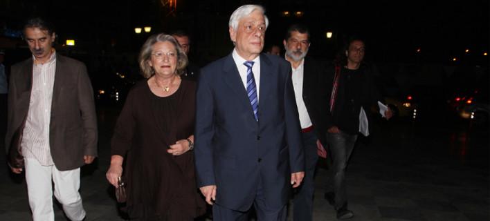 Η πρώτη δημόσια εμφάνιση της δικηγόρου Σίσσυς Παυλοπούλου ως Πρώτης Κυρίας [εικόνες]