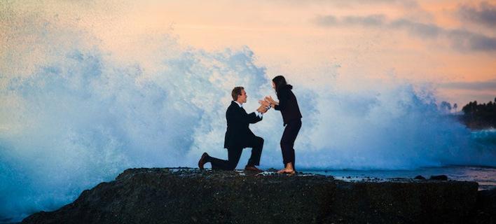 Πώς χτυπά η καρδιά ενός άνδρα όταν κάνει πρόταση γάμου [εικόνα]