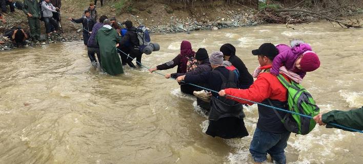 Η μεγάλη φυγή των προσφύγων από την Ειδομένη