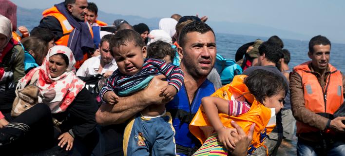Πρόσφυγες (Φωτογραφία: AP)