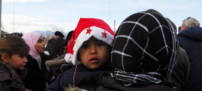 Πρόσφυγες/Φωτογραφία: Eurokinissi