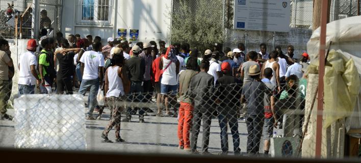 Πρόσφυγες στη Μόρια/ Φωτογραφία: EUROKINISSI