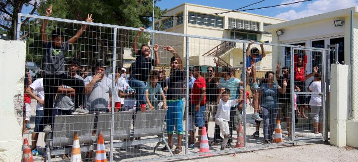 Συνεχίζονται οι μεταναστευτικές ροές από την Ελλάδα προς την ΕΕ (Φωτογραφία: ΜΟΤΙΟΝΤΕΑΜ/ΤΡΥΨΑΝΗ ΦΑΝΗ)