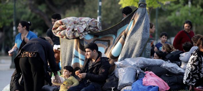 Πρόσφυγες/Φωτογραφία: IntimeNews