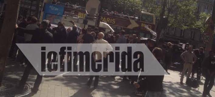 Παρίσι: Το iefimerida.gr στο σημείο που σκοτώθηκε ο αστυνομικός -Πολίτες αφήνουν λουλούδια [εικόνες&βίντεο]
