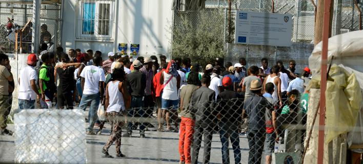 Πρόσφυγες στη Λέσβο (Φωτογραφία: EUROKINISSI/ΣΥΝΕΡΓΑΤΗΣ)