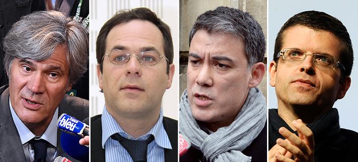 Αυτοί είναι οι 4 υποψήφιοι για την ηγεσία του γαλλικού Σοσιαλιστικού Κόμματος -Εντελώς άγνωστοι [εικόνες]