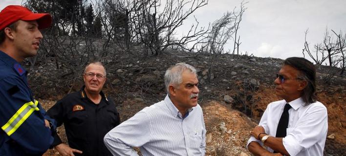 Ηλίας Ψινάκης: Κάηκε και το δικό μου σπίτι [εικόνες]