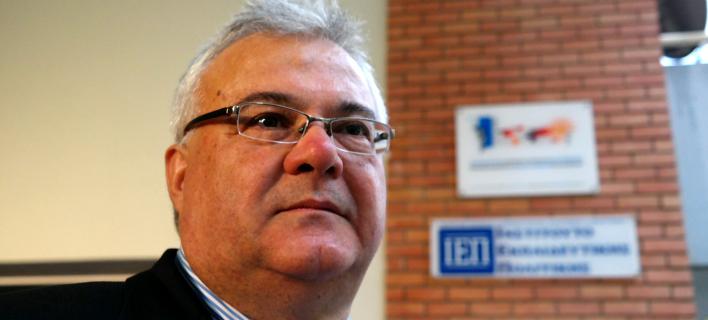 Ο γενικός διευθυντής του ΑΠΕ, Μιχάλης Ψύλος (EUROKINISSI / ΚΟΝΤΑΡΙΝΗΣ ΓΙΩΡΓΟΣ)