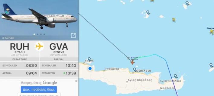 Έκτακτη προσγείωση στο αεροδρόμιο του Ηρακλείου