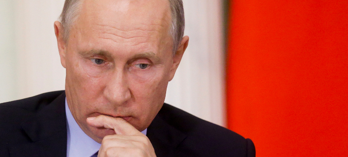 Ο Πρόεδρος της Ρωσίας, Βλαντιμίρ Πούτιν. Φωτογραφία: Sergei Chirikov/Pool Photo via AP