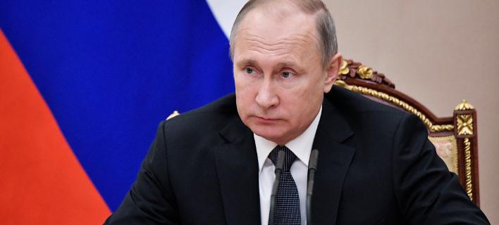 Ο Ρώσος Πρόεδρος Βλαντίμιρ Πούτιν, Φωτογραφία: AP