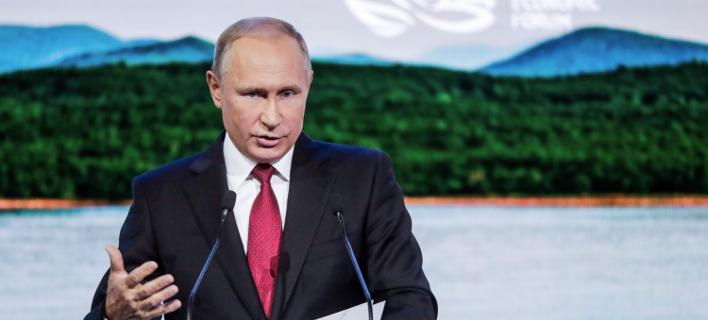 O πρόεδρος της Ρωσίας, Βλαντίμιρ Πούτιν (Φωτογραφία: ΑΡ)