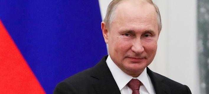Βλαντίμιρ Πούτιν (Φωτογραφία: Mikhail Klimentyev, Sputnik, Kremlin Pool Photo via AP)