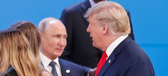 Πούτιν, Τραμπ στους G20 /Φωτογραφία:AP