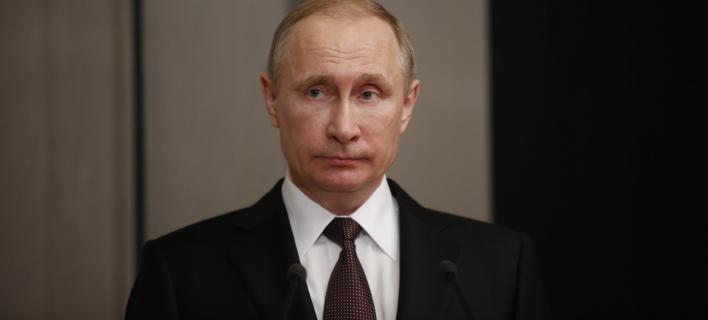 Ο Βλαντιμίρ Πούτιν/ Φωτογραφία: EUROKINISSI- ΣΤΕΛΙΟΣ ΜΙΣΙΝΑΣ