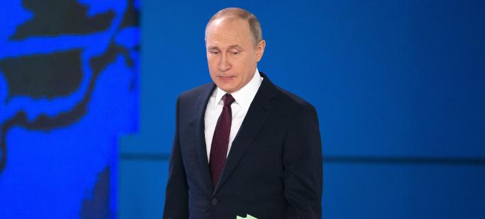 Ο Βλαντιμίρ Πούτιν/ Φωτογραφία: AP- Alexander Zemlianichenko