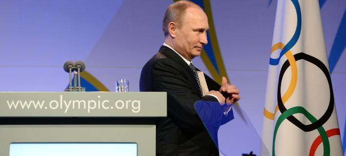 Ο Βλαντιμίρ Πούτιν (Φωτογραφία: AP/ Andrej Isakovic)
