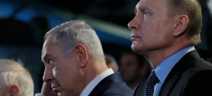 Στις 9 Μαΐου η συνάντηση Πούτιν-Νετανιάχου στη Μόσχα