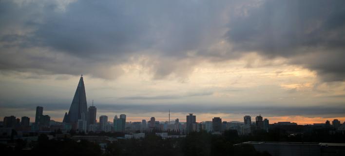 Άποψη της Πιονγιάνγκ (Φωτογραφία: ΑΡ)