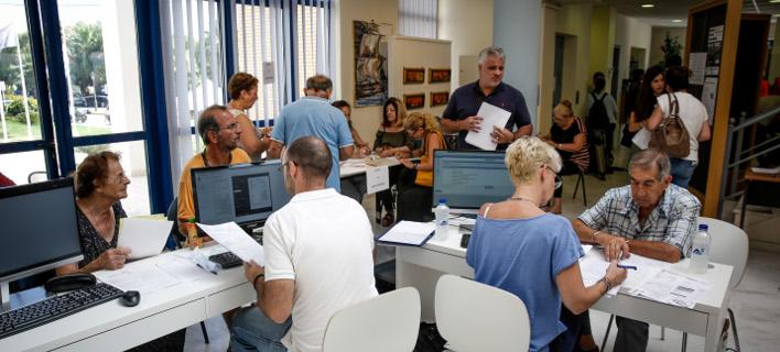 υποβολή των αιτήσεων/Φωτογραφία: Eurokinissi/ΣΤΕΛΙΟΣ ΜΙΣΙΝΑΣ