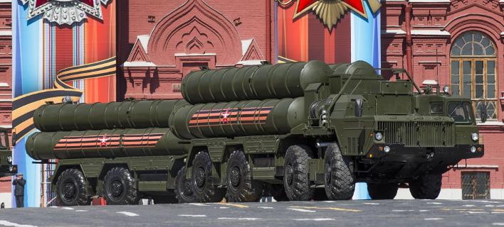 Νέα μοίρα S-400 της Ρωσίας στην Κριμαία (Φωτογραφία αρχείου: AP/ Alexander Zemlianichenko)