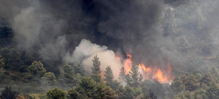 Πυρκαγιά/Φωτογραφία αρχείου: Eurokinissi/ΒΕΡΒΕΡΙΔΗΣ ΒΑΣΙΛΗΣ
