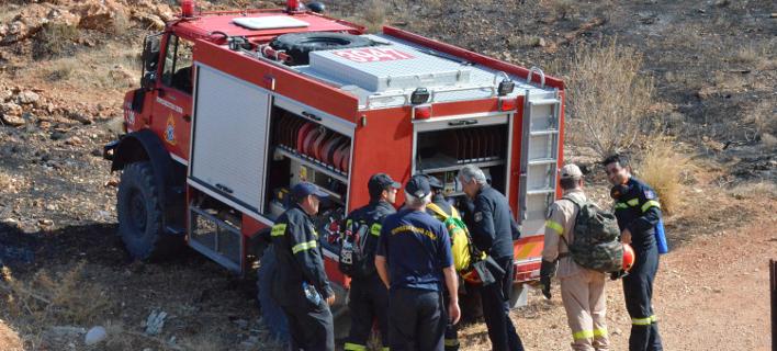 Τραυματίστηκε σοβαρά πυροσβέστης στην πυρκαγιά στη Θάσο