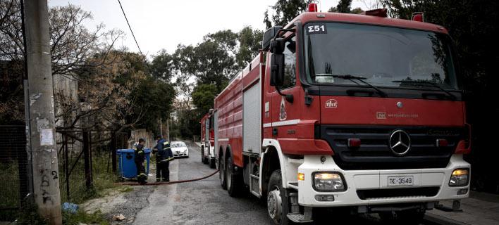 Φωτιά σε διαμέρισμα στο Ν. Ψυχικό (Φωτογραφία αρχείου: EUROKINISSI/ΣΤΕΛΙΟΣ ΜΙΣΙΝΑΣ)
