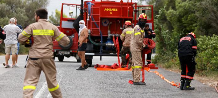 Πυροσβεστική/ Φωτογραφία intime news