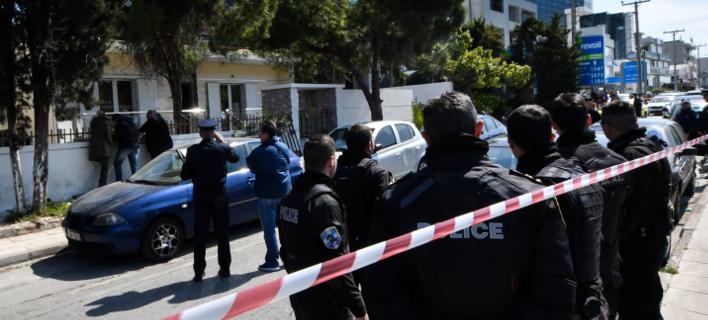το σημείο της τραγωδίας στο Ελληνικό/Φωτογραφία: Eurokinissi