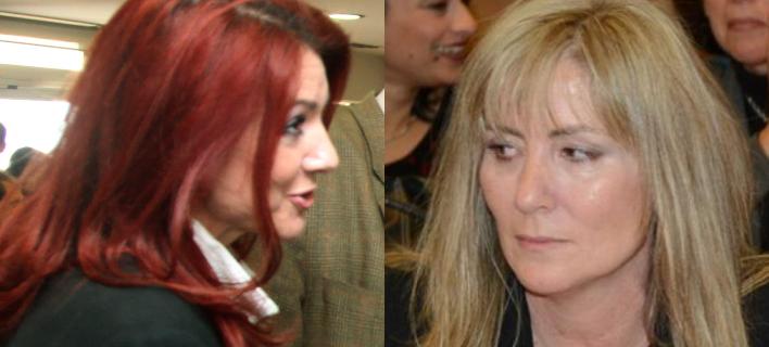 Η Ελένη Ράικου (αριστερά) και η Ελένη Τουλουπάκη (δεξιά)