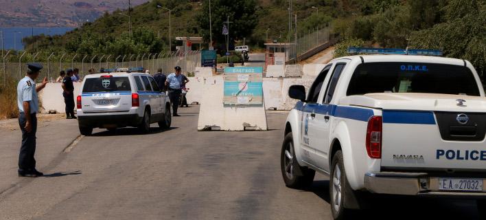 Εικόνα αρχείου από κινητοποίηση της ΕΛ.ΑΣ στα Χανιά / Φωτογραφία: InTimeNews