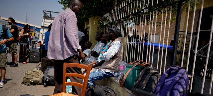 μετανάστες στην Ιταλία/Φωτογραφία: AP