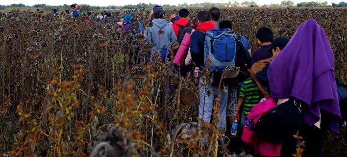 Πρόσφυγες/Φωτογραφία: AP