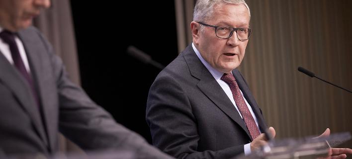 Ο επικεφαλής του ESM Κλάους Ρέγκλινγκ (Φωτογραφία: EUROKINISSI)