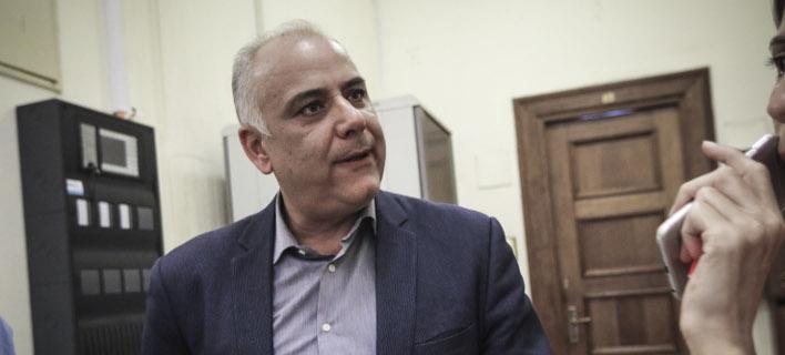 Ο βουλευτής της Ενωσης Κεντρώων Γιάννης Σαρίδης- φωτογραφία eurokinissi