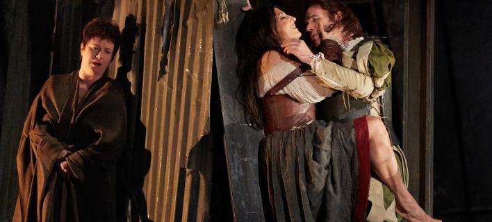 φωτογραφία από την παράσταση Ριγολέτος